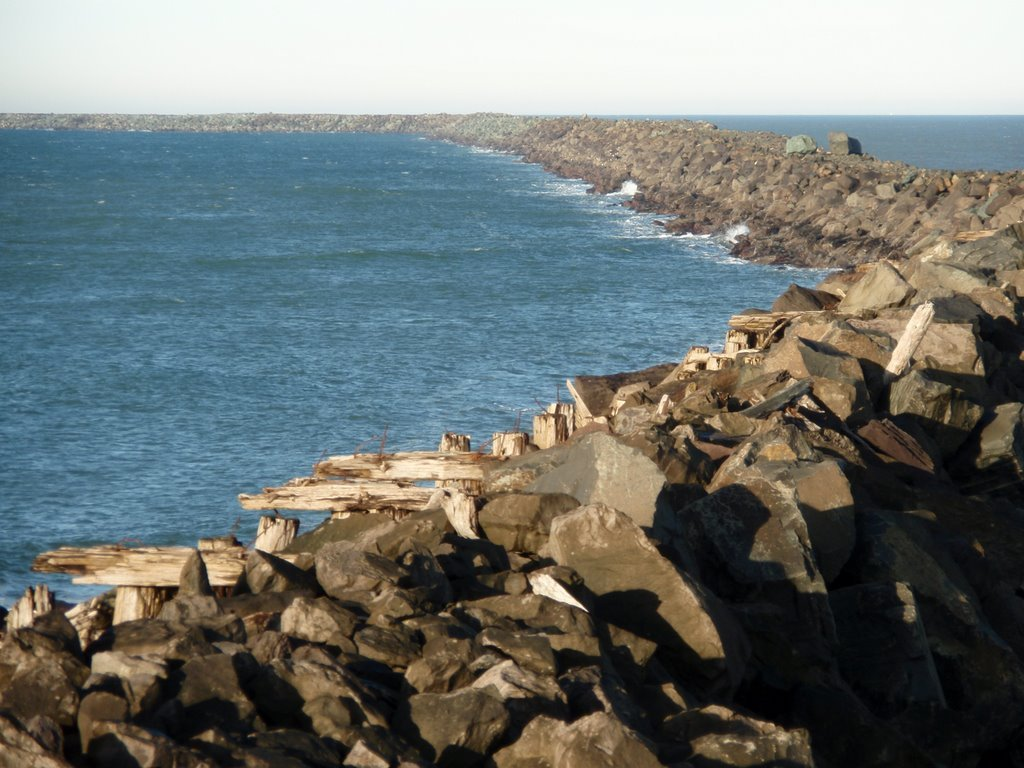 South Jetty Columbia River - Attractions/Entertainment - Fort Stevens State Park, Hammond, Oregon, United States