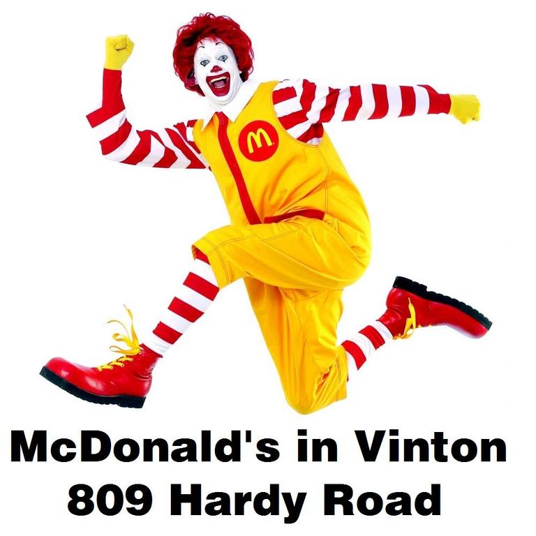 Mcdonald's In Vinton - Restaurants - 809 Hardy Rd, Vinton, VA, 24179