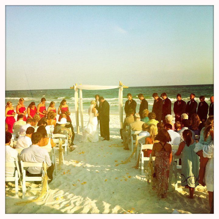 Wedding Ceremony @ Inlet Beach Access - Ceremony Sites - 438 South Orange Street Center, Inlet Beach, Florida, US