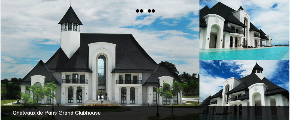 Chateaux De Paris Grand Clubhouse - Reception Sites - South Forbes Golf City, Laguna, CALABARZON, Philippines
