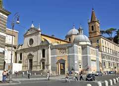 Piazza del Popolo - ATTRACTIONS/ SITIOS DE INTERES - Piazza del Popolo, 5, Rome, Lazio, Italy