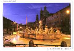 Piazza Navona - ATTRACTIONS/ SITIOS DE INTERES - Piazza Navona, Roma, Lazio, IT