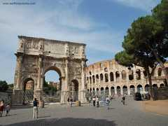 Arch of Constantine - ATTRACTIONS/ SITIOS DE INTERES - Via di San Gregorio, Rome, Lazio, IT