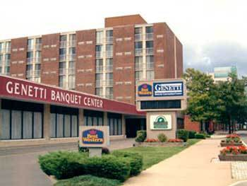 Best Western Genetti Hotel & Conference Center - Reception Sites, Hotels/Accommodations - 77 E Market St, Wilkes-Barre, PA, United States