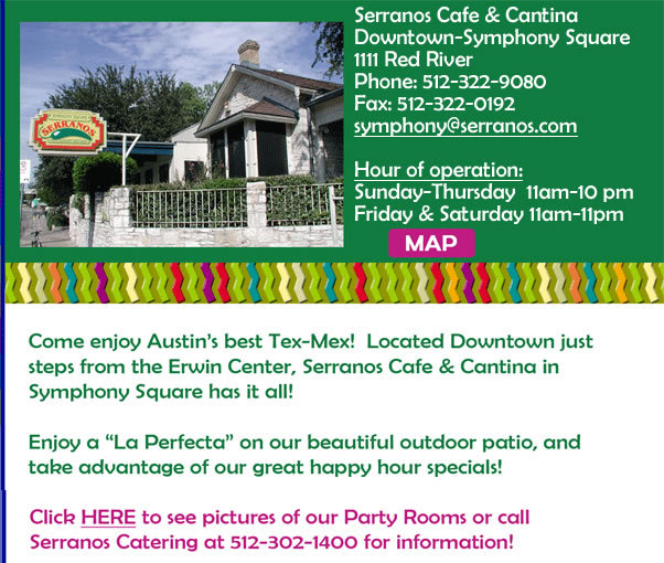 Serranos Cafe & Cantina - Rehearsal Lunch/Dinner, Welcome Sites, Restaurants - 1111 Red River St, Austin, TX, USA