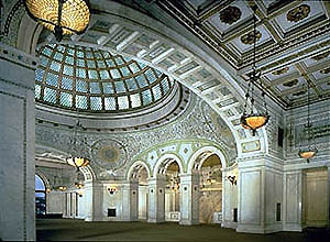 Chicago Cultural Center - Attractions/Entertainment, Reception Sites, Ceremony Sites - 78 E Washington St, Chicago, IL, 60602