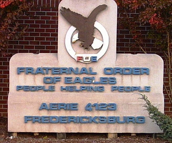 Fraternal Order Of The Eagles - Reception Sites - 21 Cool Springs Rd, Fredericksburg, VA, 22405
