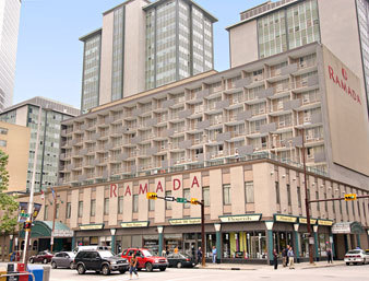 Ramada Hotel - Hotels/Accommodations - 708 8 Avenue SW, Calgary, AB, Canada