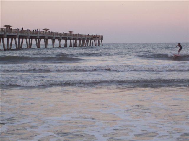 Jacksonville Fishing Beach Pier - Beaches - 503 1st St N, Jacksonville Beach, FL, 32250