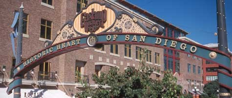 Gaslamp Quarter - Bars/Nightife, Attractions/Entertainment, Shopping - 4th Ave & G St, San Diego, CA, 92101, US