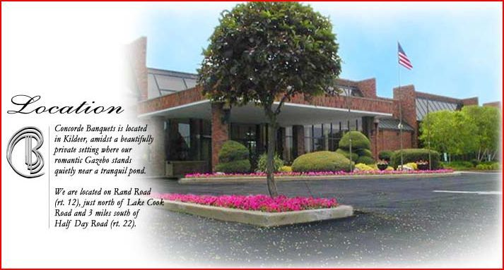 Concorde Banquets - Reception Sites, Ceremony Sites, Ceremony & Reception - 20922 North Rand Road, Kildeer, IL, 60047