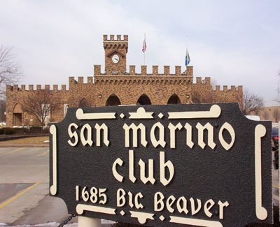 San Marino Club - Reception Sites, Ceremony Sites - 1685 E Big Beaver Rd, Troy, MI, 48083, US
