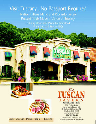 Tuscan Tavern - Caterers, Reception Sites - 2001 College Dr, Clementon, NJ, 08021, US