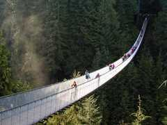 Capilano Suspension Bridge - Attraction - 3735 Cpailano Road, North Vancouver, BC, v7r 4j1, Canada