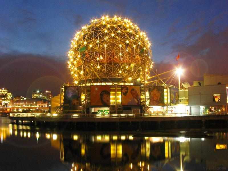 Science World - Attractions/Entertainment, Ceremony Sites - 1455 Quebec Street, Vancouver, BC, Canada