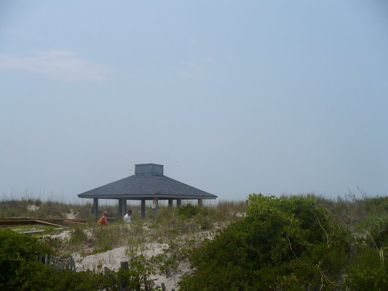 Ceremony At South Tip Of Wrightsville Beach - Ceremony Sites -