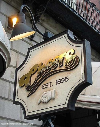 Cheers: Bull & Finch Pub - Restaurants, Bars/Nightife, Attractions/Entertainment - 84 Beacon St, Boston, MA, 02108