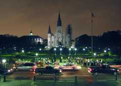 Jackson Square - Attractions - Chartres St & St Peter St, New Orleans, LA, United States