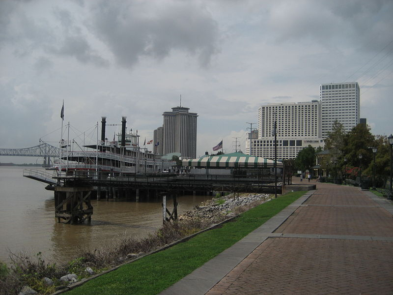 Woldenberg Riverfront Park - Parks/Recreation, Attractions/Entertainment - 1 Canal Street, New Orleans, LA, United States