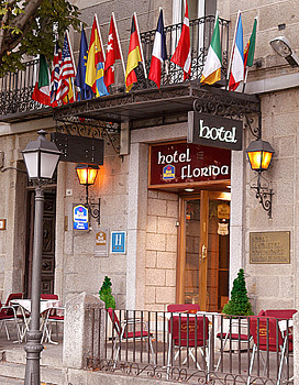 Best Western Hotel Florida - Hotels/Accommodations - Calle Floridablanca 12, San Lorenzo de El Escorial, 28, España