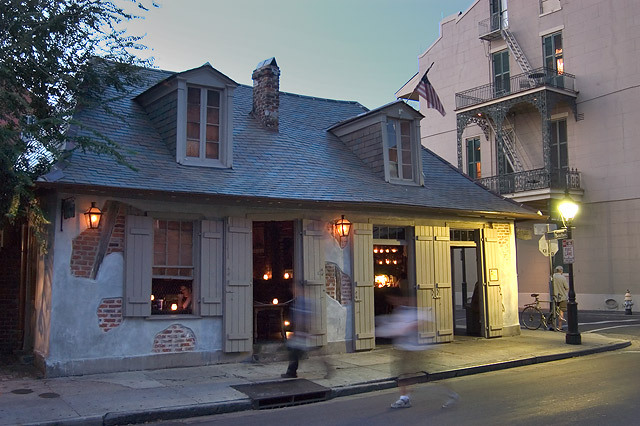 Lafitte's Blacksmith Shop - Attractions/Entertainment, After Party Sites, Bars/Nightife - 941 Bourbon St, New Orleans, LA, 70116