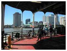 Algiers Point to Canal Street  Ferry - Ferrys, Boats, Sternwheels -