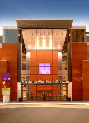 Science Center Of Iowa - Attractions/Entertainment - 401 W Martin Luther King Jr. Parkway, Des Moines, IA, United States
