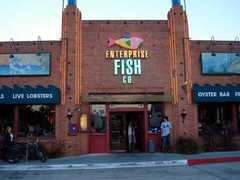 Enterprise Fish Company - Restaurant - 174 Kinney Street, Santa Monica, CA, United States