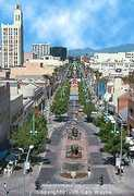 Third Street Promenade - Attraction - Broadway &amp; Santa Monica Blvd &amp; 3rd St, Santa Monica, CA, 90401, US