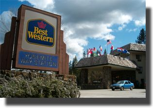 Best Western Plus Yosemite Way Station Motel - Reception Sites, Hotels/Accommodations - 4999 State Highway 140, Mariposa, CA, 95338