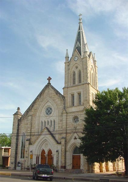 St. Mary's Catholic Church - Ceremony Sites - 306 W San Antonio St, Fredericksburg, TX, 78624