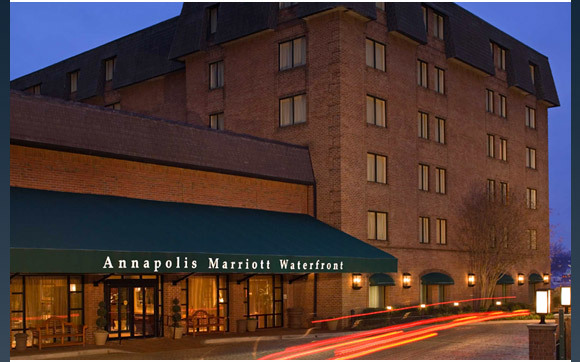 Annapolis Marriott Waterfront - Reception Sites, Hotels/Accommodations, Ceremony &amp; Reception, Restaurants - 80 Compromise St, Annapolis, MD, USA