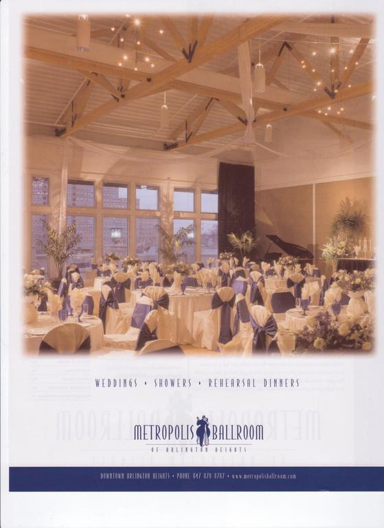 Metropolis Ballroom - Reception Sites, Ceremony &amp; Reception, Ceremony Sites - 6 S Vail Ave, Arlington Hts, IL, United States