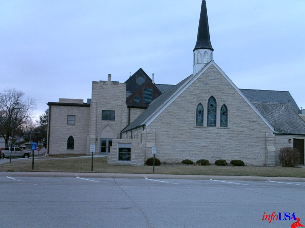 St. Paul's United Methodist Church - Ceremony Sites - 324 S Jackson St, Papillion, NE, 68046, US