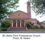 MT Baker Park Presbyterian Church - Ceremony - 3201 Hunter Blvd. S., Seattle, WA, 98144, USA