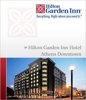 Hilton Garden Inn - Hotels/Accommodations - 390 E Washington St, Athens, GA, 30601, US