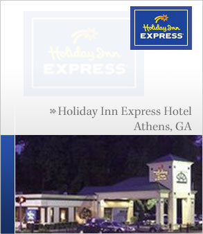 Holiday Inn Express - Hotels/Accommodations - 513 W Broad St, Athens, GA, United States