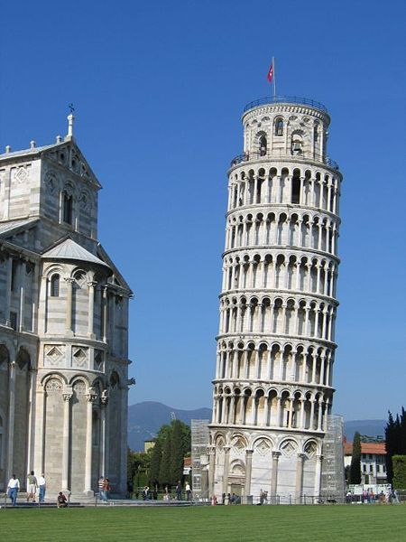 Leaning Tower Of Pisa - Attractions/Entertainment - Leaning Tower of Pisa, Pisa PI, Pisa, Tuscany, IT