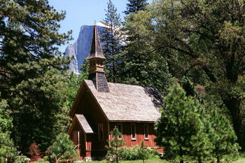 Yosemite Valley Chapel - Ceremony Sites -