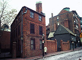 Paul Revere House - Attractions/Entertainment - 19 North Sq, Boston, MA, United States