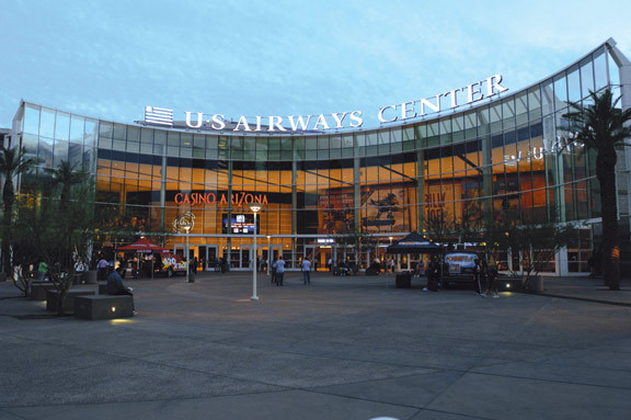 Us Airways Center - Attractions/Entertainment - 201 E Jefferson St, Phoenix, AZ, United States
