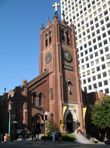 Ceremony - Old Saint Mary's Catholic Cathedral - Ceremony Sites - 660 California Street , San Francisco, CA, 94108