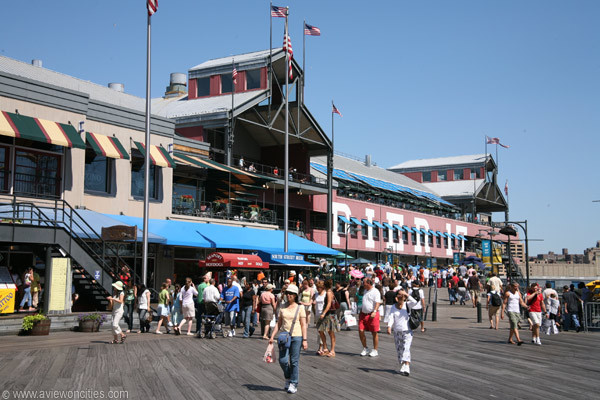 South Street Seaport - Attractions/Entertainment, Restaurants, Shopping - South Street Seaport, New York, NY