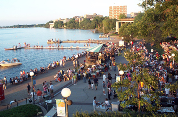 Memorial Union - Reception Sites, Attractions/Entertainment, Photo Sites, Bars/Nightife - 800 Langdon St, Madison, WI, 53706, US