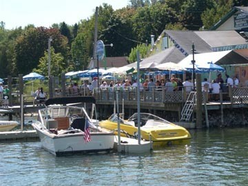 The Landing's - Restaurants - M-66 at Ironton ferry, Charlevoix