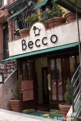 Becco - Rehearsal Lunch/Dinner - 335 W 46th St, New York, NY, 10036, US