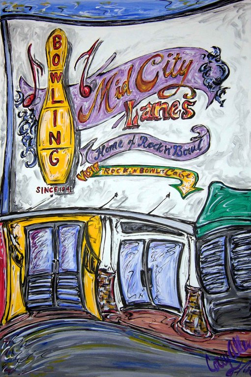 Mid-city Lanes Rock 'n Bowl - Attractions/Entertainment, Reception Sites - 4133 S Carrollton Ave, New Orleans, LA, 70119, US
