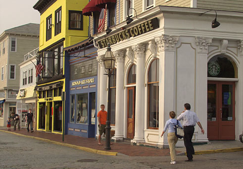 Thames Street - Shopping, Attractions/Entertainment - Thames St, Newport, Rhode Island, US