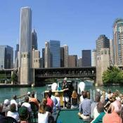 Chicago Boat and Architecture Tours - Attraction - N Michigan Ave & E Wacker Dr, Chicago, IL, 60601