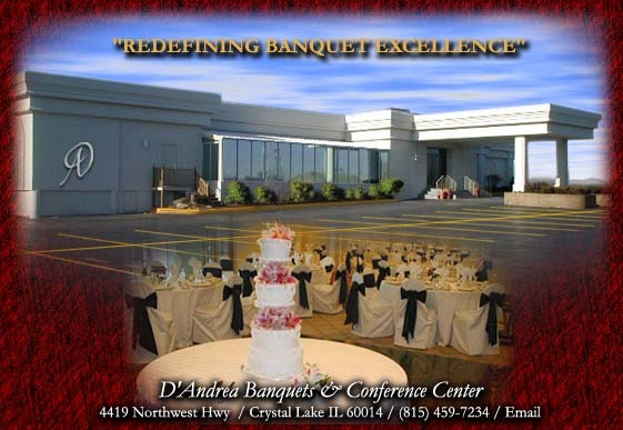 D'andreas Banquet Hall - Reception Sites, Ceremony Sites - 4419 Northwest Hwy, Crystal Lake, IL, United States